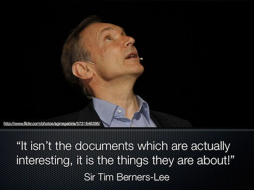 It's not the Documents, it's the Things